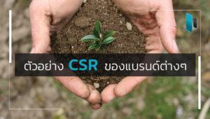 Examples of CSR
