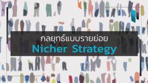 กลยุทธ์แบบรายย่อย (Nicher Strategy)