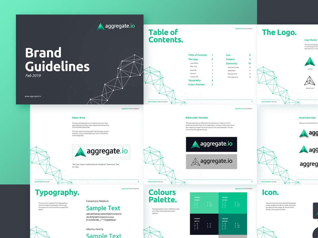 Example of Brand Guideline_Agregate.io