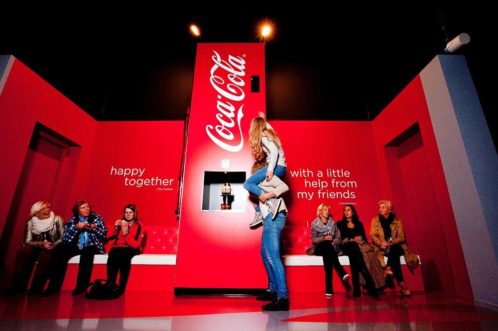 Coke Happiness Machine