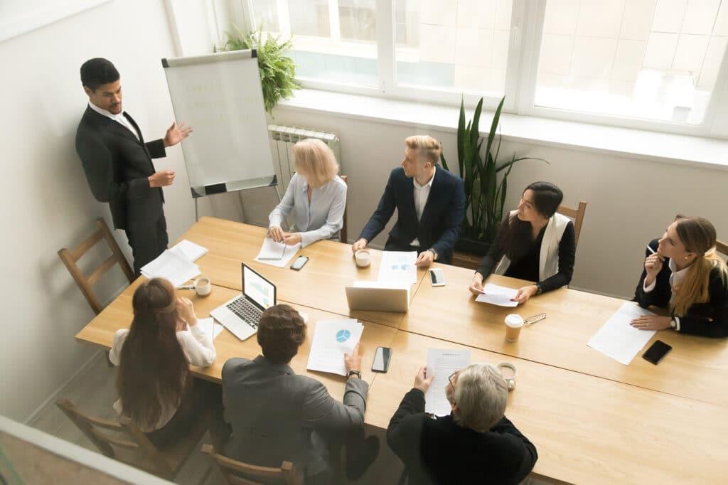 การประชุมภายในองค์กร | Popticles.com