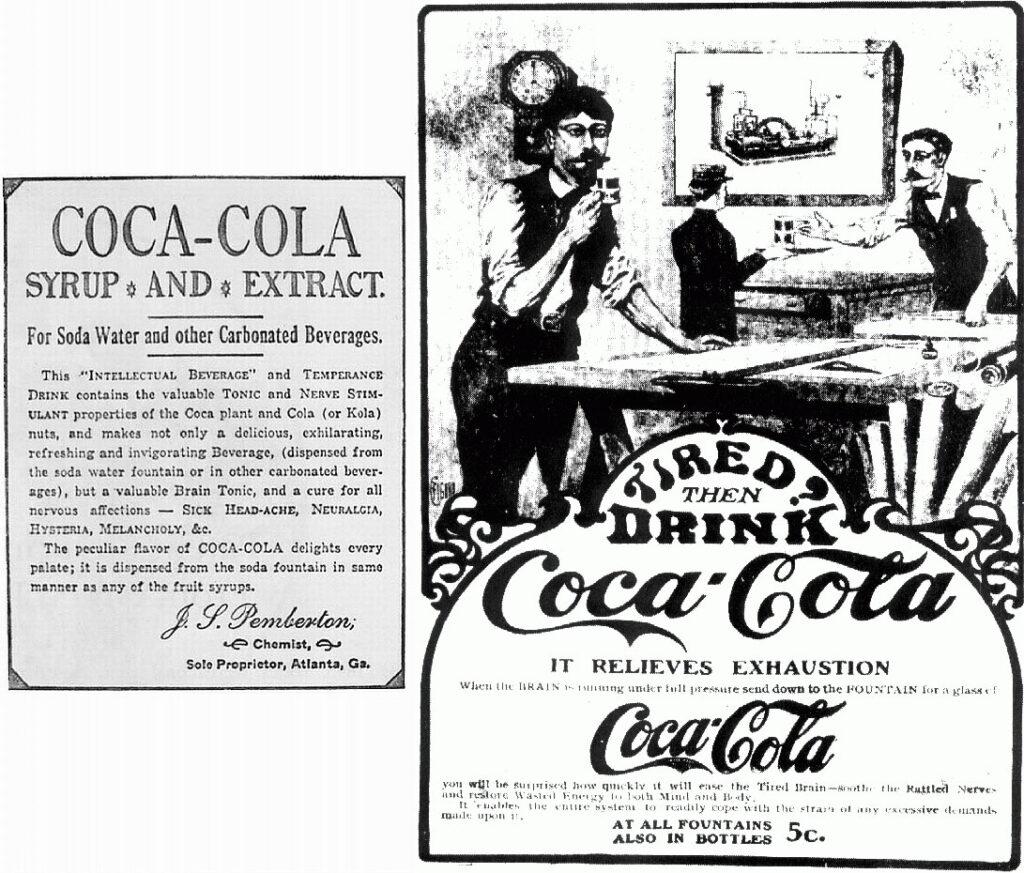 Coca-Cola Ads 1886