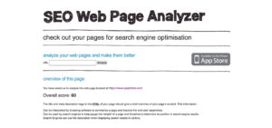 SEO-Webpage-Analyzer
