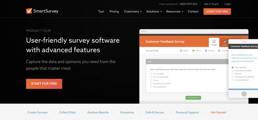 SmartSurvey Example