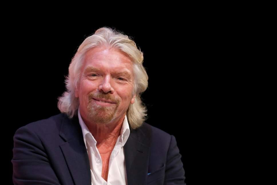 Richard Branson Portrait