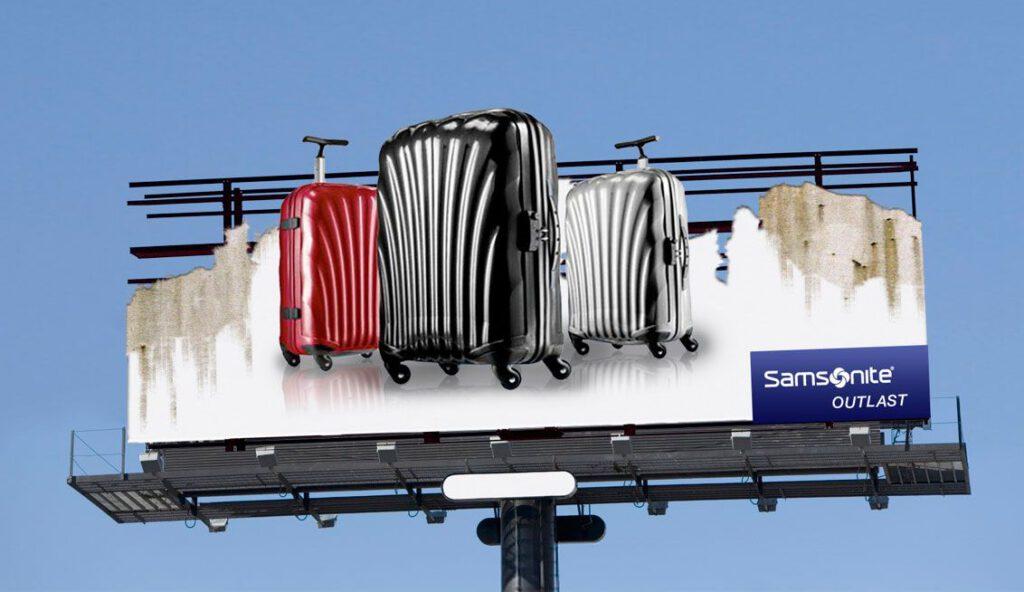 Samsonite Billboard