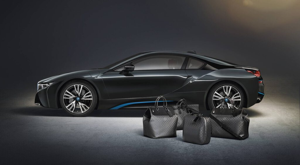 BMW i8 Louis Vitton Co-Branding