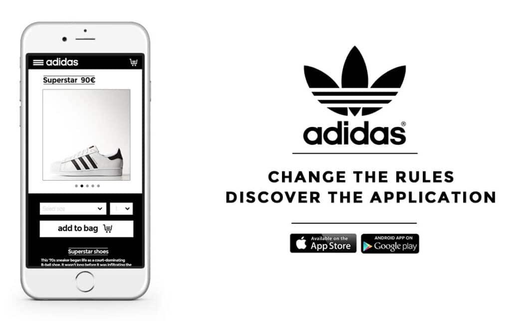Adidas Application for Customer Experience