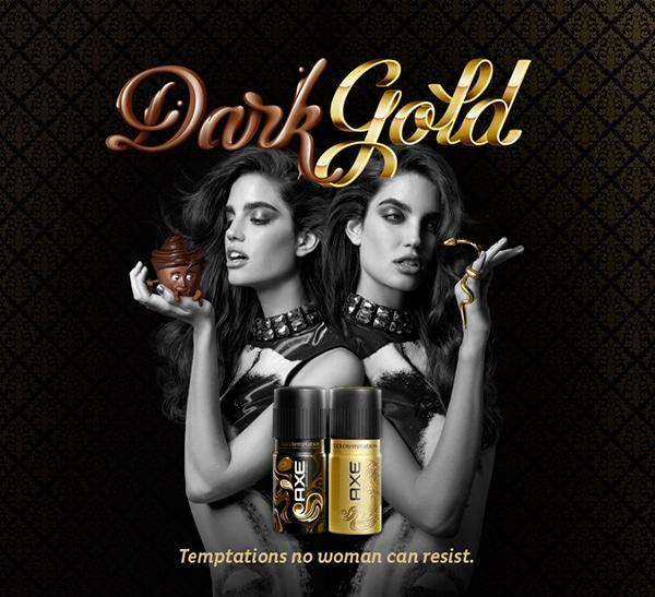 Axe Dark Gold Persuasive Advertising