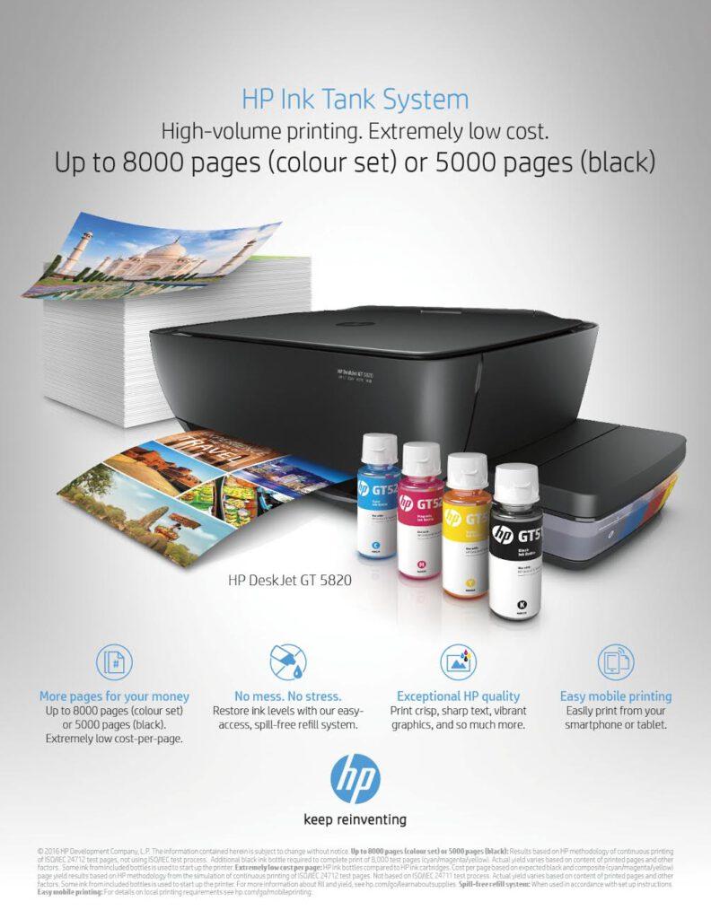 HP-Printer Informative Advertising