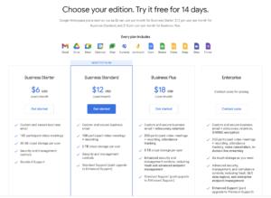 Google Workspace Freemium