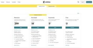 MailChimp Freemium