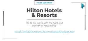 Hilton Hotels & Resorts Vision Statement
