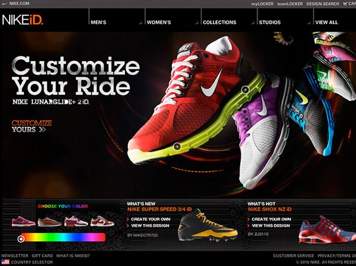 Nike Product Customization