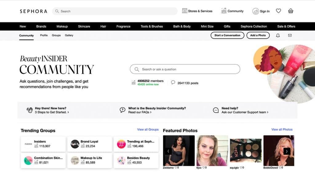 Sephora Online Community