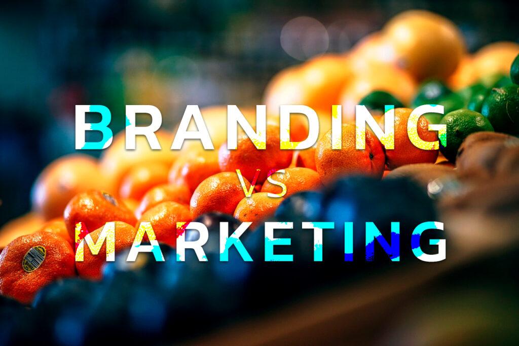Branding VS Marketing Cover