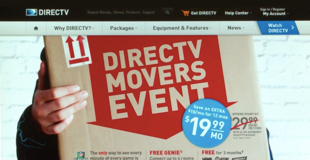 DirecTV Personalized Content