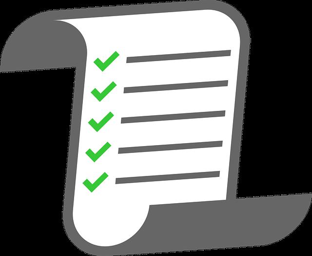 และส่งให้ทีมงานแต่เนิ่นๆ (Agenda Checklist)