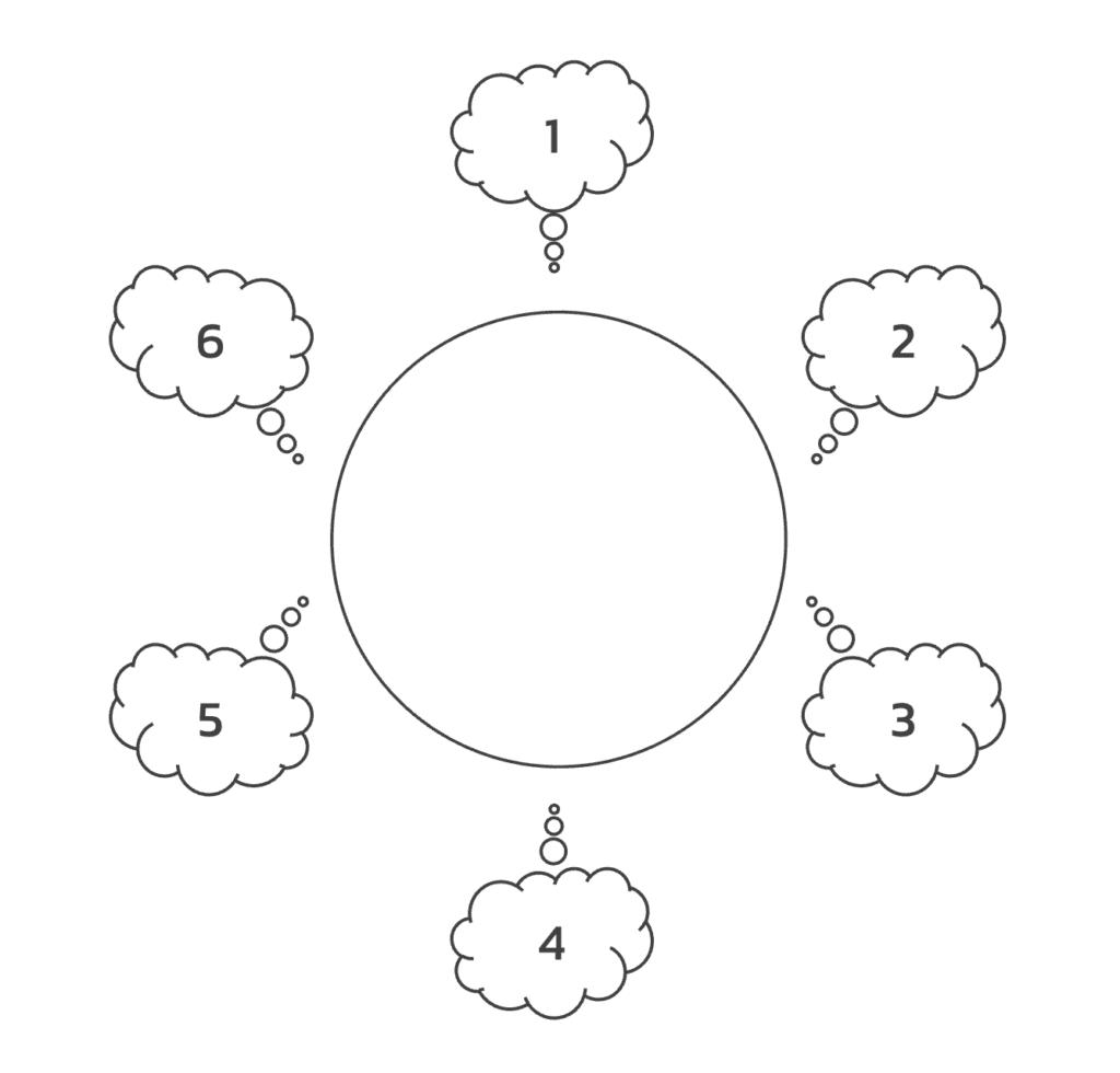 Brain Storming Technique - Round robin brainstorming